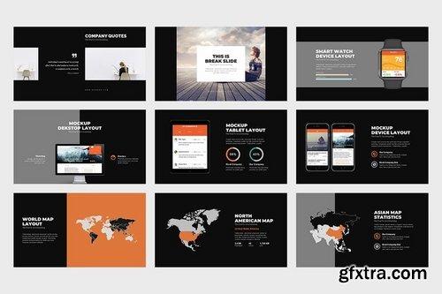 Denera  Creative Business Powerpoint Template