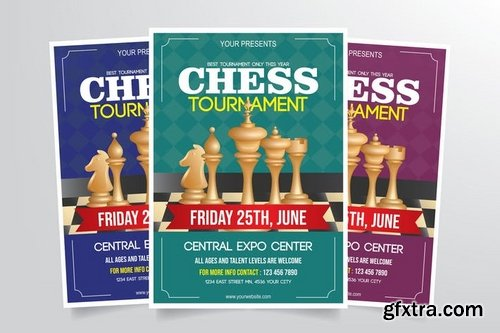 Chess Tournament Flyer Template