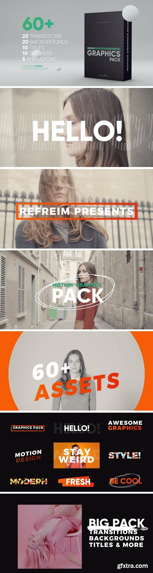 MA - Motion Graphics Pack After Effects Templates 146885