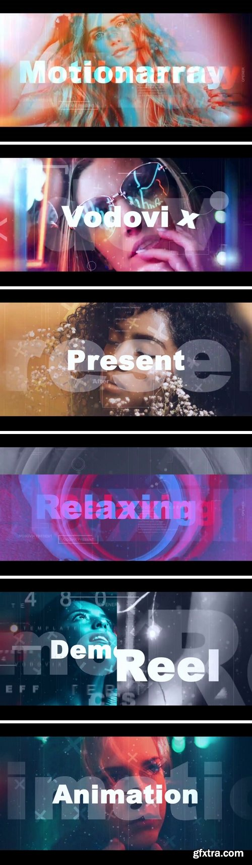 MA - Relaxing Opener V2 After Effects Templates 148257
