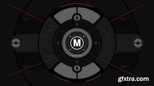 MA -  HUD Logo Reveal After Effects Templates 148874