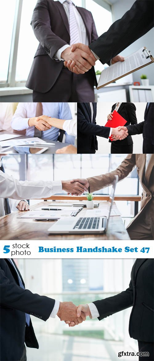 Photos - Business Handshake Set 47