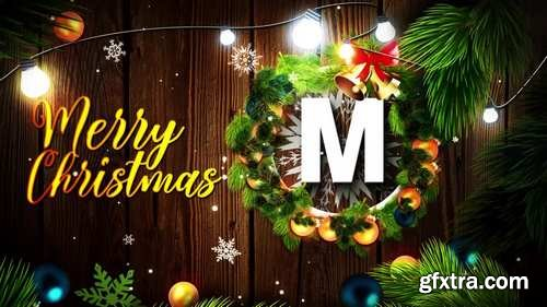 CM - Merry Christmas Logo After Effects Templates 148875