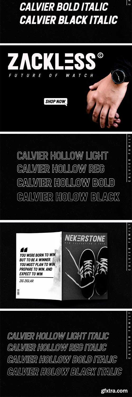 CM - Calvier - Headline Sans Family 3253405