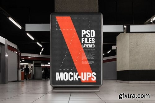 Flyer and Poster Urban Mock-ups - Set Pack