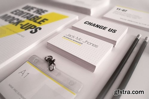 Elegant Mock-ups Bundle - Business Corporate ID