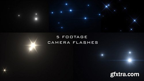 Camera Flash Popping Pack - Motion Graphics 143017