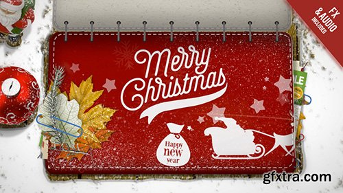 Christmas Booklet Of Wishes Pack - Motion Graphics 144285