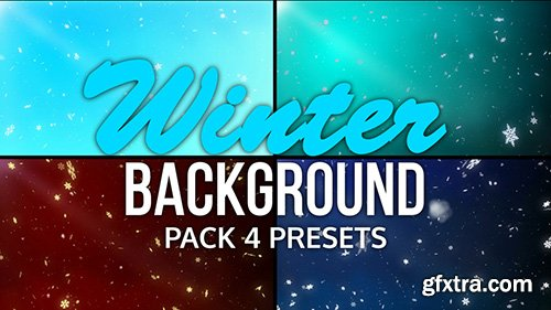 Winter Backgrounds Pack - Motion Graphics 144630