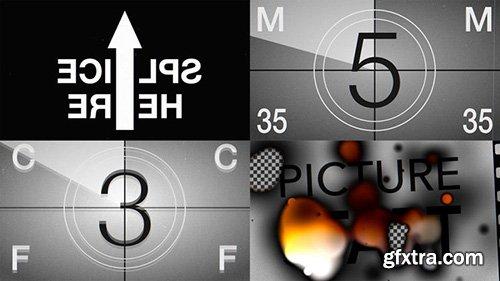 Film Leader Countdown Burned - Motion Graphics 143444