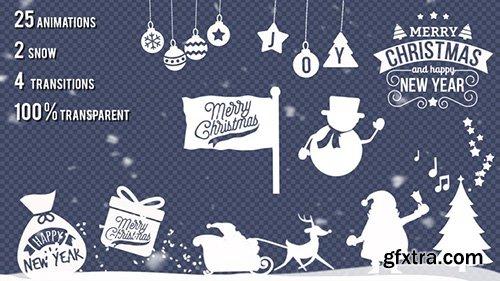 Christmas Animations Kit - Motion Graphics 143740