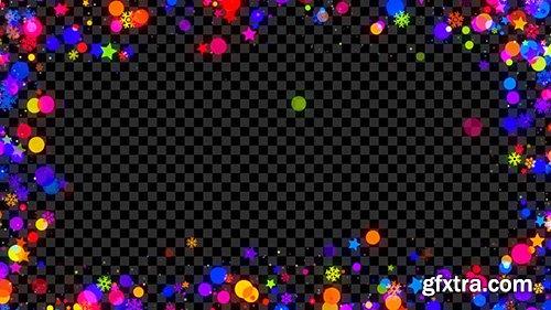 Colorful Christmas Frame - Motion Graphics 144902