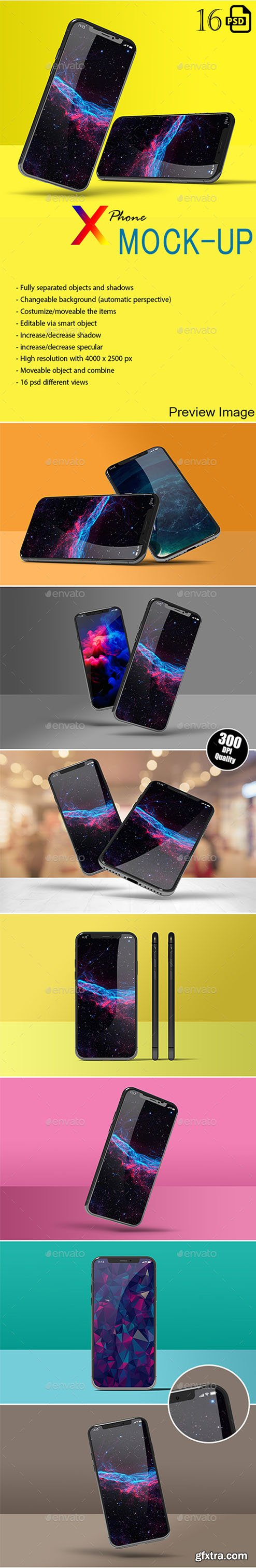 New Phone X Mockup 22921310
