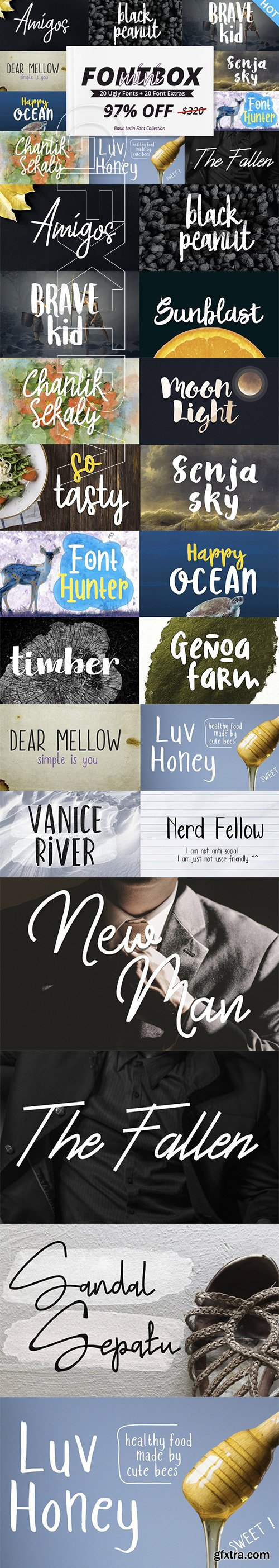 CreativeMarket - The FontBox Mini 3237533