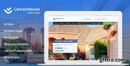 ThemeForest - Lemanhouse - Real Estate HTML Template (Update: 12 October 18) - 22593480