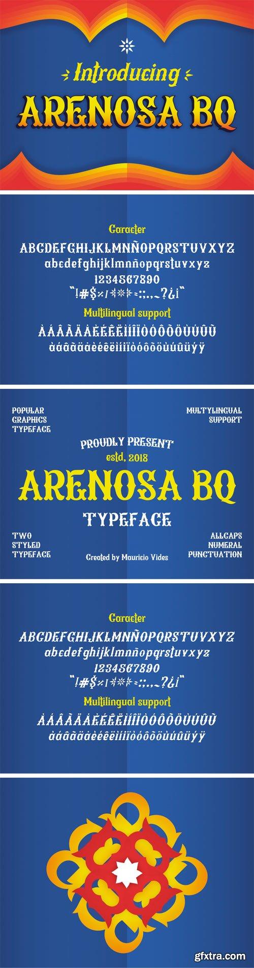 Arenosa BQ Font