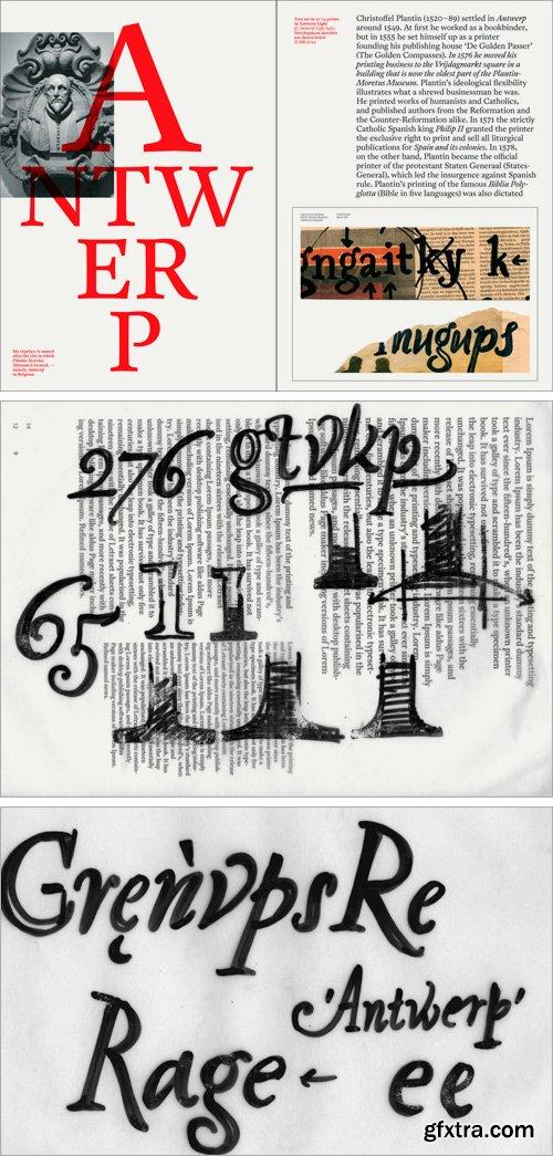A2 Antwerp Font Family