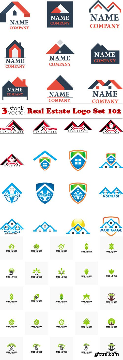Vectors - Real Estate Logo Set 102