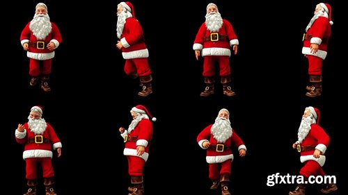 Active Santa Claus Pack - Motion Graphics 139578