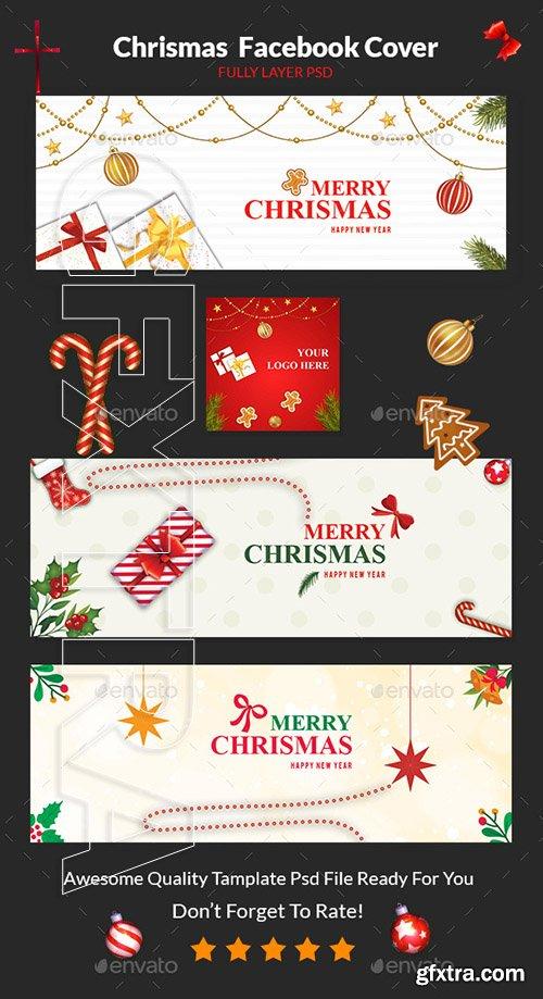 GraphicRiver - Christmas Facebook Cover 22905438