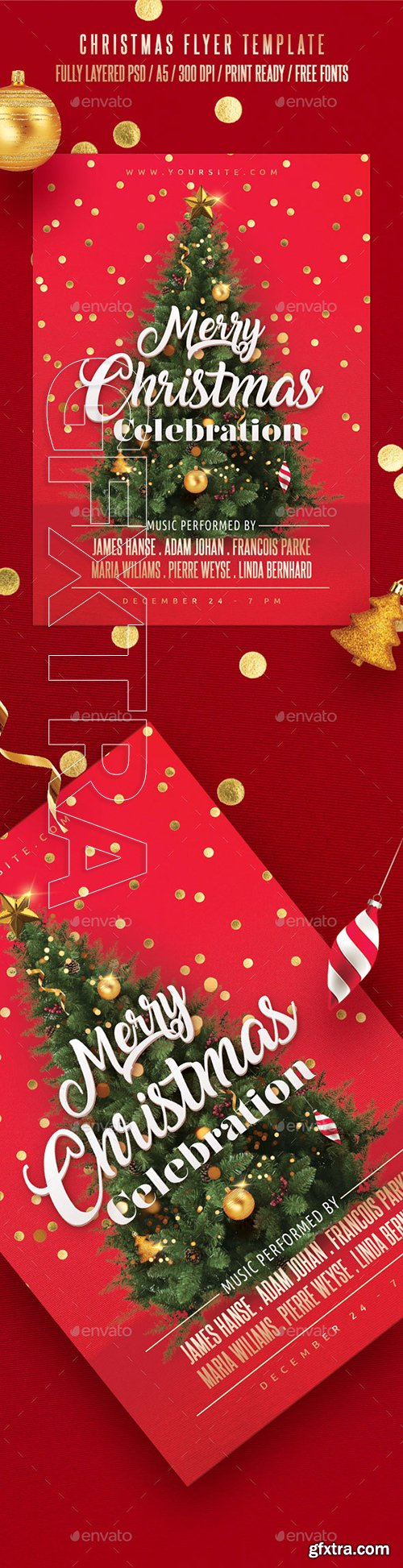 GraphicRiver - Christmas Flyer Template 22930718