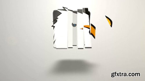 Videohive Logo Flip Opener 6512134