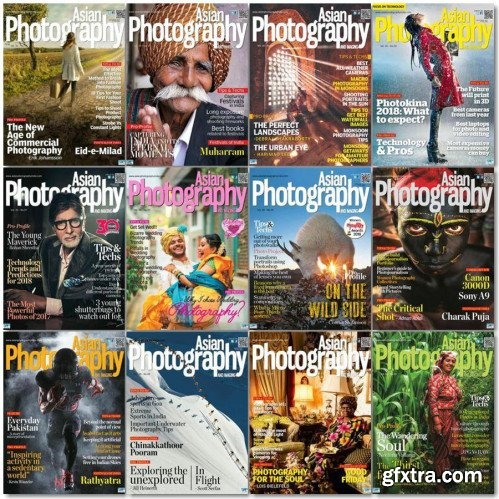 Asian Photography - 2018 Full Year Issues Collection