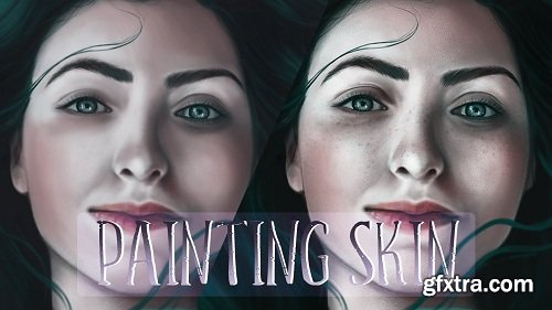 Digital Art : Painting Realistic Skin