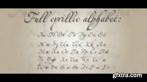 Videohive Latin and Cyrillic Handwrite Bundle 5968629