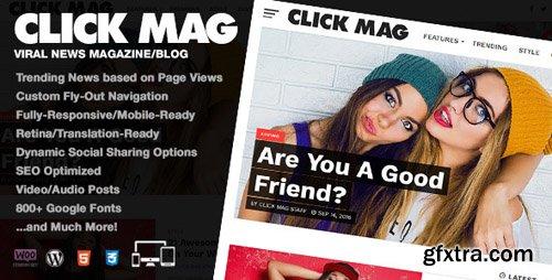 ThemeForest - Click Mag v3.0.0 - Viral WordPress News Magazine/Blog Theme - 18081003
