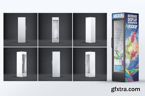 Beverage Display Refrigerator Mock-Up