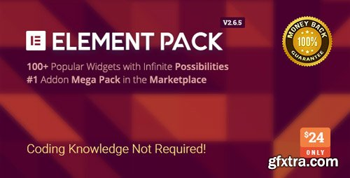 CodeCanyon - Element Pack v2.6.5 - Addon for Elementor Page Builder WordPress Plugin - 21177318