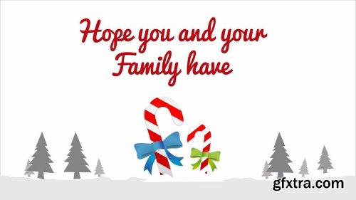 Videohive Beautiful Christmas Flat 22843786