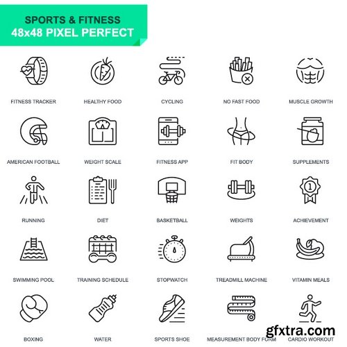 Videohive 625 Thin Line Icons 22973742