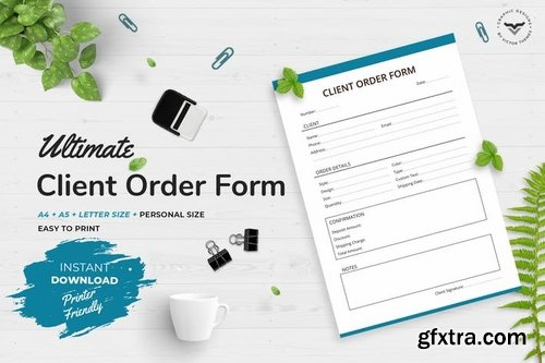Client Order Planners