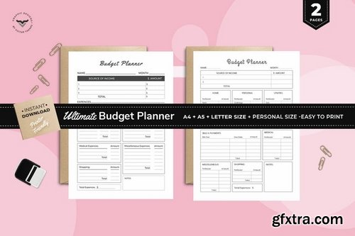 Ultimate Budget Planners