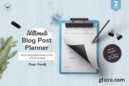 Ultimate Blog Post Planner