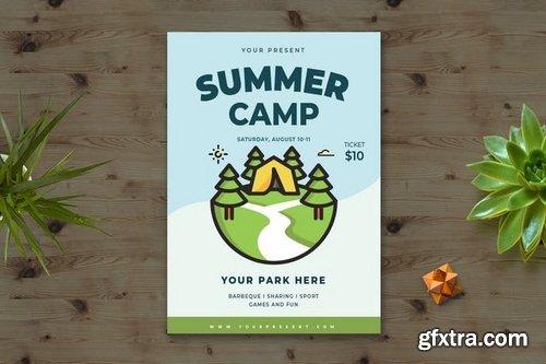Summer Camp Flyer vol1