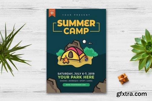 Summer Camp Flyer vol2