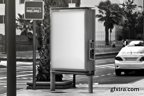 Urban Flyer, Poster, Billboard Mock-up - PSD Set