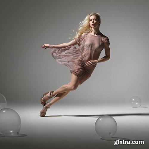 Karl Taylor Phorography - Fashion Photography: Falling Girl