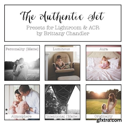 The Authentic Set by Brittany Chandler Presets (LR & ACR)