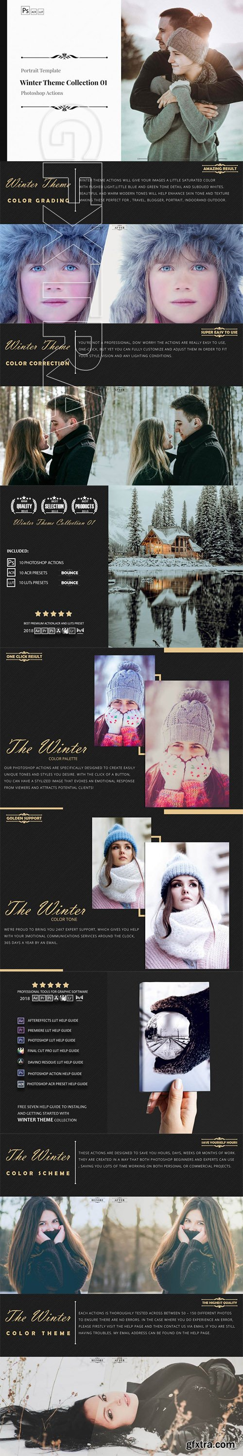 Winter Theme Color Grading Collection 01