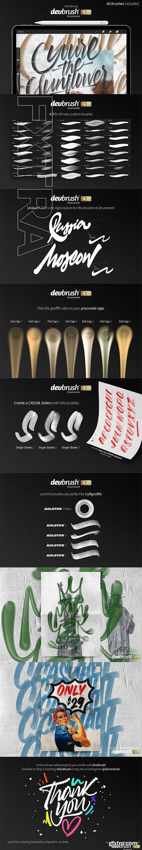 CreativeMarket - DevBrush 4.0 for Procreate 3223559