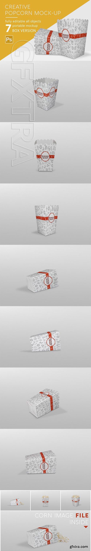 CreativeMarket - Popcorn Mockup 2881215