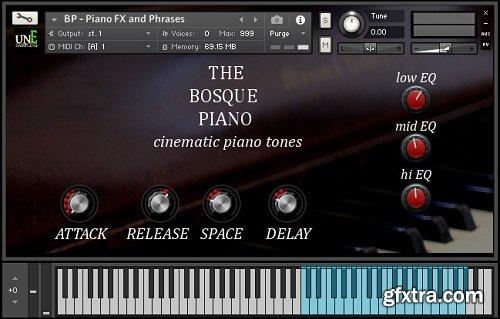 unEarthed Sampling The Bosque Piano KONTAKT