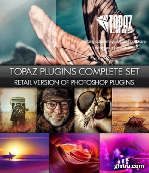 Topaz Plugins Complete Bundle for Photoshop (Win) Dec 2018