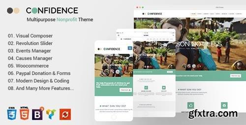 ThemeForest - Confidence v3.2.4 - Multipurpose Nonprofit WordPress Theme - 13439345