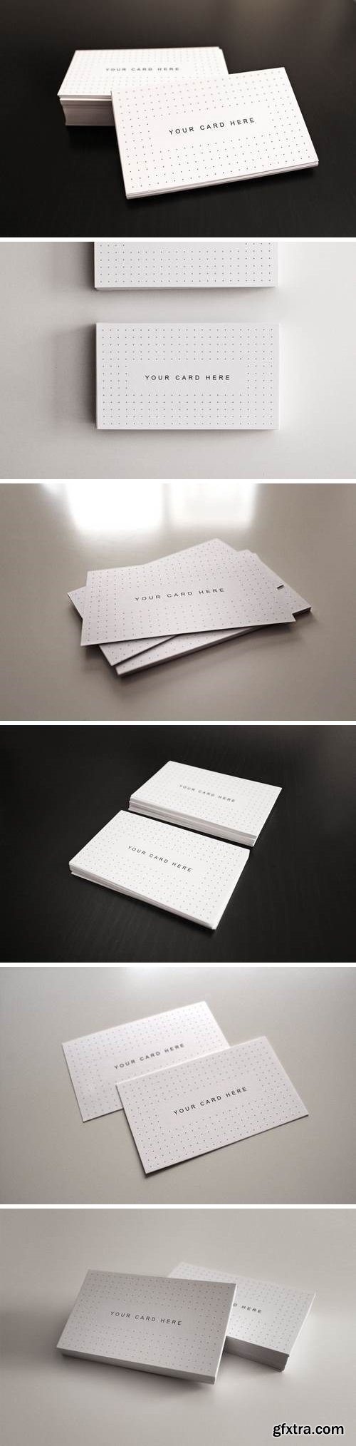 Flyer and Business Card Clean Realistic Mockups 3