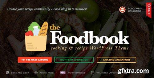 ThemeForest - Foodbook v1.1.0 - Recipe Community, Blog, Food & Restaurant Theme - 19150408